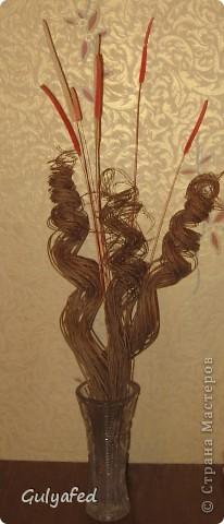 Ивовые прутья для вазы своими руками