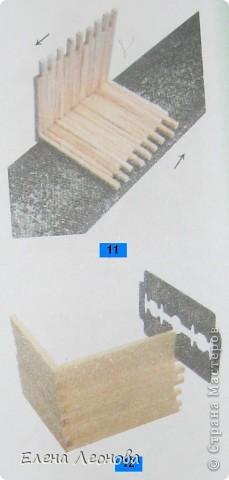 Мастер-класс Макет: МК Мельница из спичек Спички. Фото 7