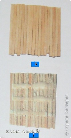 Мастер-класс Макет: МК Мельница из спичек Спички. Фото 5
