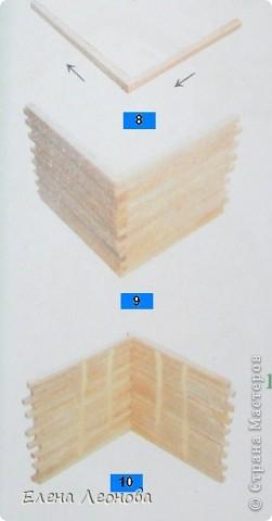 Мастер-класс Макет: МК Мельница из спичек Спички. Фото 6