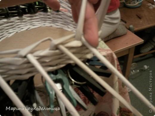 Мастер-класс Плетение: Обработка края - очень легко!!! Бумага газетная. Фото 3
