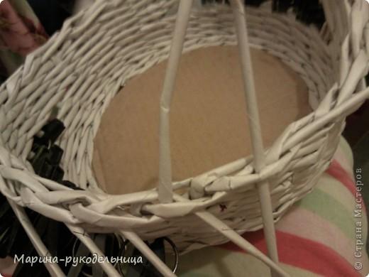 Мастер-класс Плетение: Обработка края - очень легко!!! Бумага газетная. Фото 9