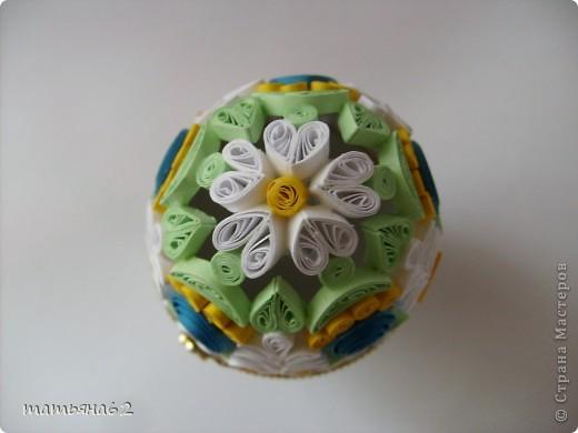 Поделка, изделие Квиллинг: Яйцо-шкатулка. Бумага Пасха. Фото 4