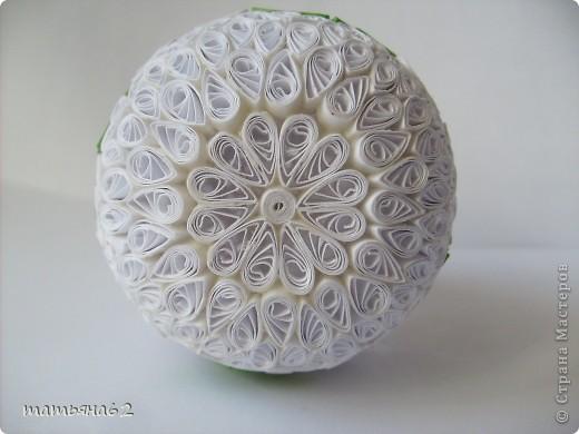 Поделка, изделие Квиллинг: Пасхальное яйцо. Бумага Пасха. Фото 6