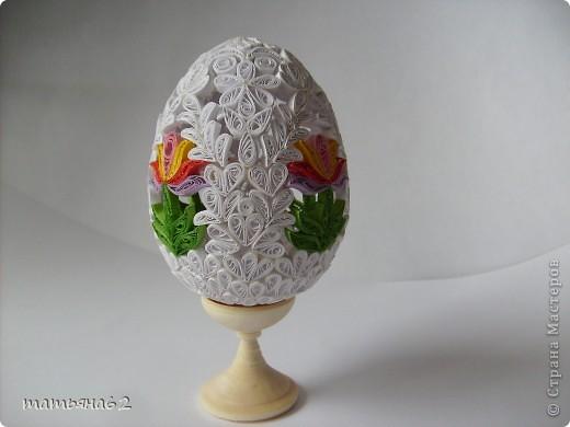 Поделка, изделие Квиллинг: Пасхальное яйцо. Бумага Пасха. Фото 2