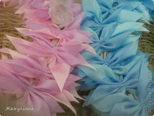 Мастер-класс, Цумами Канзаши, : подготовка к свадьбе (мини мк) Ленты Свадьба, . Фото 3