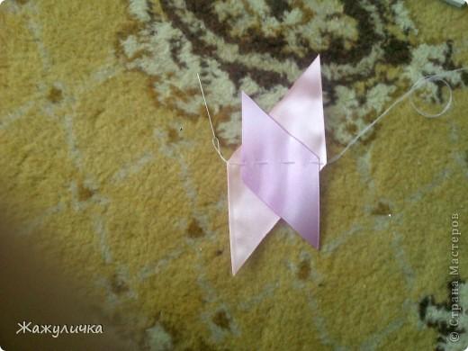 Мастер-класс, Цумами Канзаши, : подготовка к свадьбе (мини мк) Ленты Свадьба, . Фото 2
