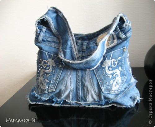 шьем сумки из джинсовой ткани своими руками.