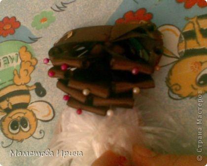 Куклы, Мастер-класс Шитьё: Мастер класс прическа для куклы Ленты, Нитки. Фото 12