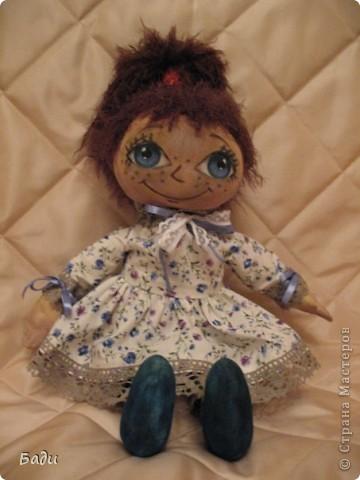 Игрушка, Куклы Шитьё: Машка-Замарашка!!! Ткань День рождения. Фото 1