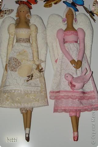 Игрушка, Куклы Шитьё: Ангелы к Пасхе и Принцессы Пасха. Фото 1