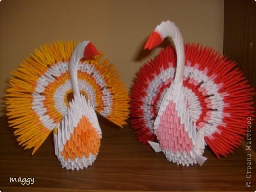 Поделка, изделие,  Оригами модульное, : Origami models Бумага . Фото 1