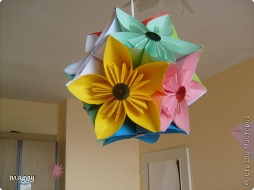 Поделка, изделие,  Оригами модульное, : Origami models Бумага . Фото 2