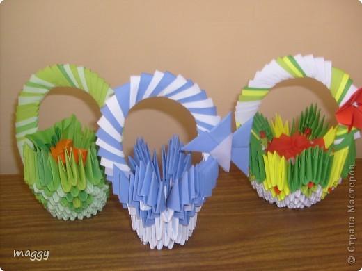 Поделка, изделие,  Оригами модульное, : Origami models Бумага . Фото 3