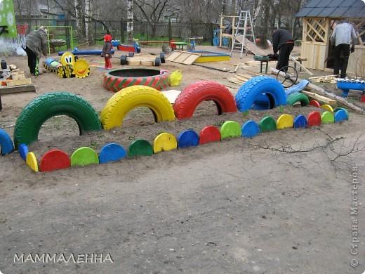 Как сделать красиво детскую площадку