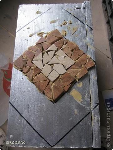 за основу взят мебельный щит (2шт), размером 80*20, толщина - 1,5-2 см. Фото 12