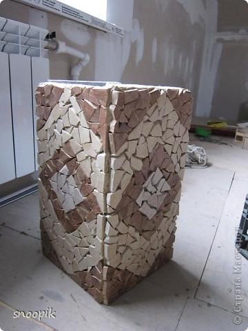 за основу взят мебельный щит (2шт), размером 80*20, толщина - 1,5-2 см. Фото 13