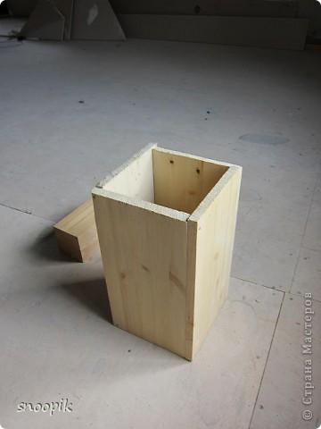 за основу взят мебельный щит (2шт), размером 80*20, толщина - 1,5-2 см. Фото 3