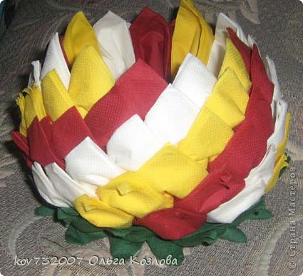 Поделки цветов своими руками из цветной бумаги