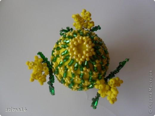 Мастер-класс Бисероплетение: МК по плетению сетки для пасхальных яичек  Бисер Пасха. Фото 17