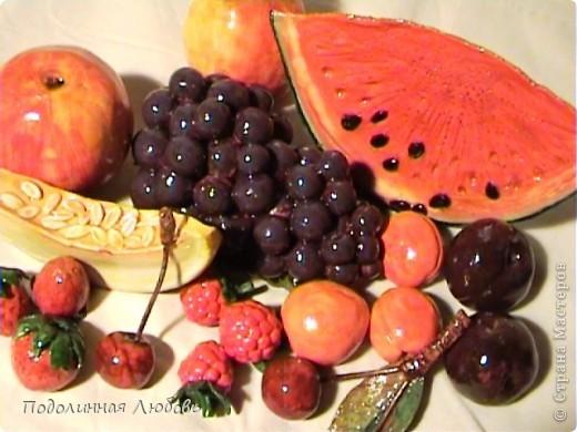 Натюрморт с овощами и фруктами 90x100 см. Холст.  Масло.