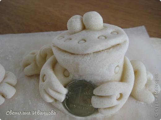 Поделка, изделие Лепка: Лягушки Тесто соленое. Фото 2