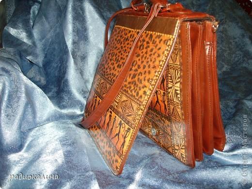Декор предметов Декупаж: Новая жизнь старой сумки Салфетки.