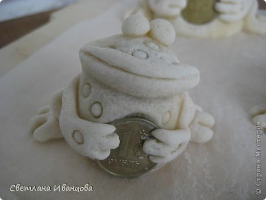 Поделка, изделие Лепка: Лягушки Тесто соленое. Фото 6