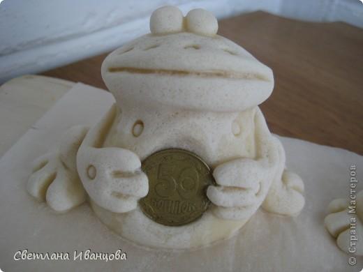 Поделка, изделие Лепка: Лягушки Тесто соленое. Фото 5