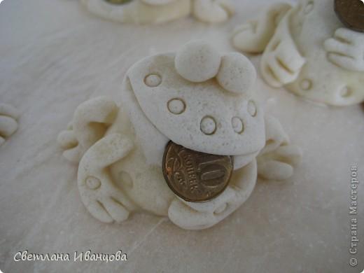 Поделка, изделие Лепка: Лягушки Тесто соленое. Фото 4