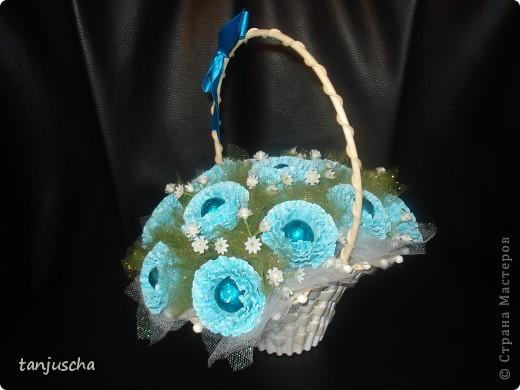 Свит-дизайн Бумагопластика: Мой первый букетик Бумага гофрированная 8 марта, День матери, День рождения. Фото 6