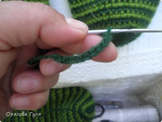 Мастер-класс Вязание крючком: Носки связанные крючком. Мастер-класс. Нитки. Фото 2