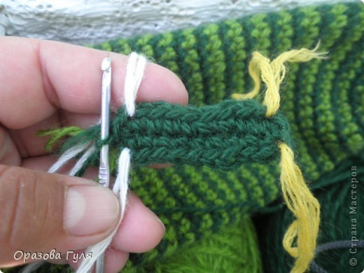 Мастер-класс Вязание крючком: Носки связанные крючком. Мастер-класс. Нитки. Фото 3
