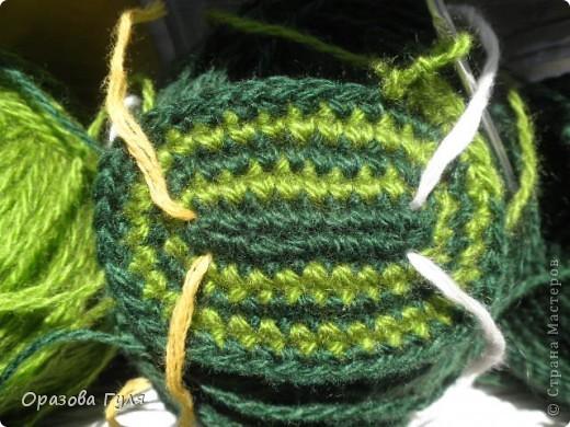 Мастер-класс Вязание крючком: Носки связанные крючком. Мастер-класс. Нитки. Фото 4