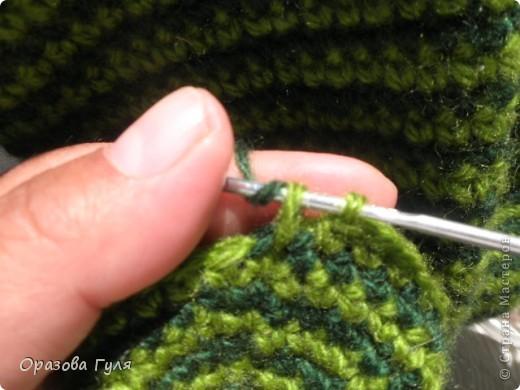 Мастер-класс Вязание крючком: Носки связанные крючком. Мастер-класс. Нитки. Фото 6