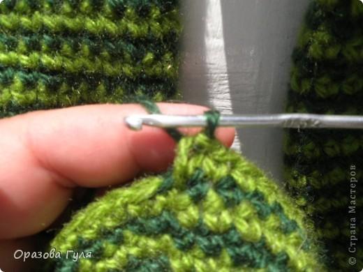 Мастер-класс Вязание крючком: Носки связанные крючком. Мастер-класс. Нитки. Фото 9
