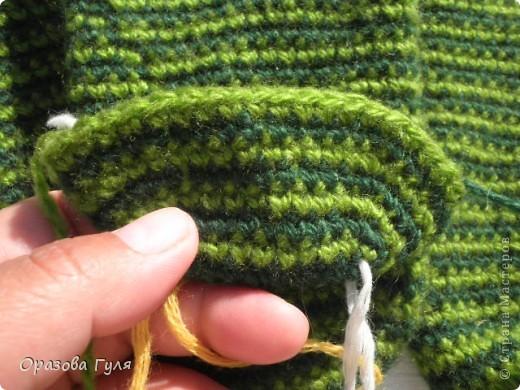 Мастер-класс Вязание крючком: Носки связанные крючком. Мастер-класс. Нитки. Фото 5