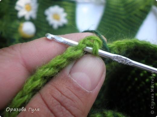 Мастер-класс Вязание крючком: Носки связанные крючком. Мастер-класс. Нитки. Фото 15