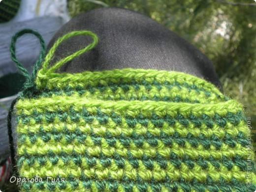 Мастер-класс Вязание крючком: Носки связанные крючком. Мастер-класс. Нитки. Фото 13