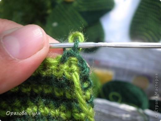 Мастер-класс Вязание крючком: Носки связанные крючком. Мастер-класс. Нитки. Фото 14