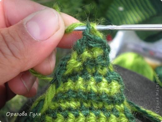 Мастер-класс Вязание крючком: Носки связанные крючком. Мастер-класс. Нитки. Фото 17