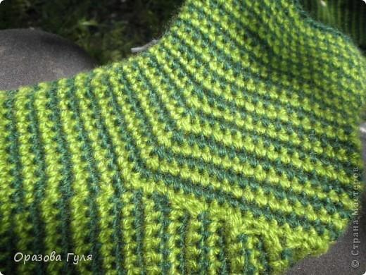 Мастер-класс Вязание крючком: Носки связанные крючком. Мастер-класс. Нитки. Фото 22