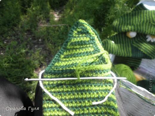 Мастер-класс Вязание крючком: Носки связанные крючком. Мастер-класс. Нитки. Фото 19