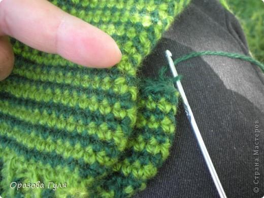 Мастер-класс Вязание крючком: Носки связанные крючком. Мастер-класс. Нитки. Фото 21