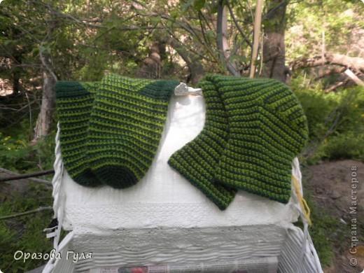 Мастер-класс Вязание крючком: Носки связанные крючком. Мастер-класс. Нитки. Фото 23