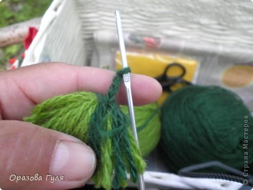 Мастер-класс Вязание крючком: Носки связанные крючком. Мастер-класс. Нитки. Фото 28