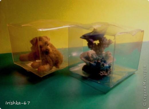 Мастер-класс, Упаковка,  Вырезание, : Упаковка для мелочевки (мини-МК) Бутылки . Фото 7