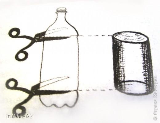 Мастер-класс, Упаковка,  Вырезание, : Упаковка для мелочевки (мини-МК) Бутылки . Фото 3