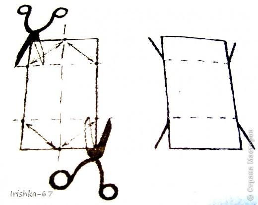 Мастер-класс, Упаковка,  Вырезание, : Упаковка для мелочевки (мини-МК) Бутылки . Фото 5