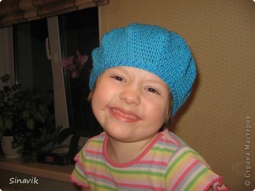 шапочка с ушками цветами вязание, вязание крючком топы и кофточки и...